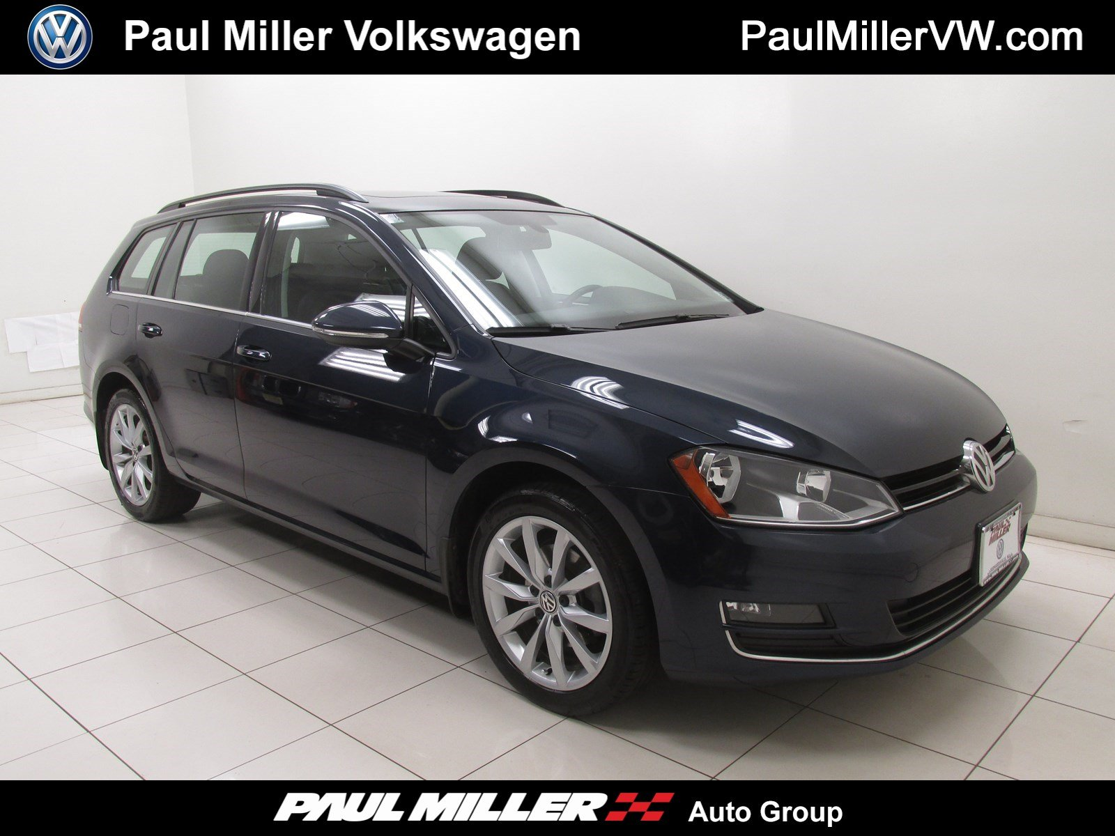 Certified Pre Owned 2016 Volkswagen Golf SportWagen TSI SE Station