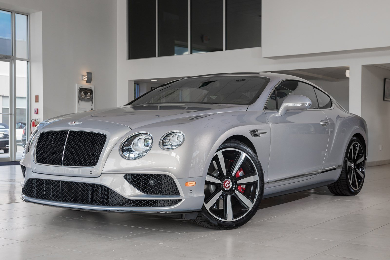 New 2017 Bentley Continental Gt V8 S Mulliner 2dr Car In