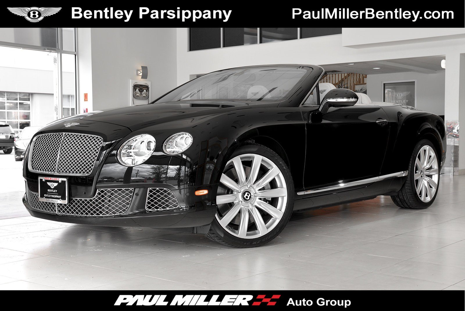 Certified Pre Owned 2013 Bentley Continental Gtc Convertible In