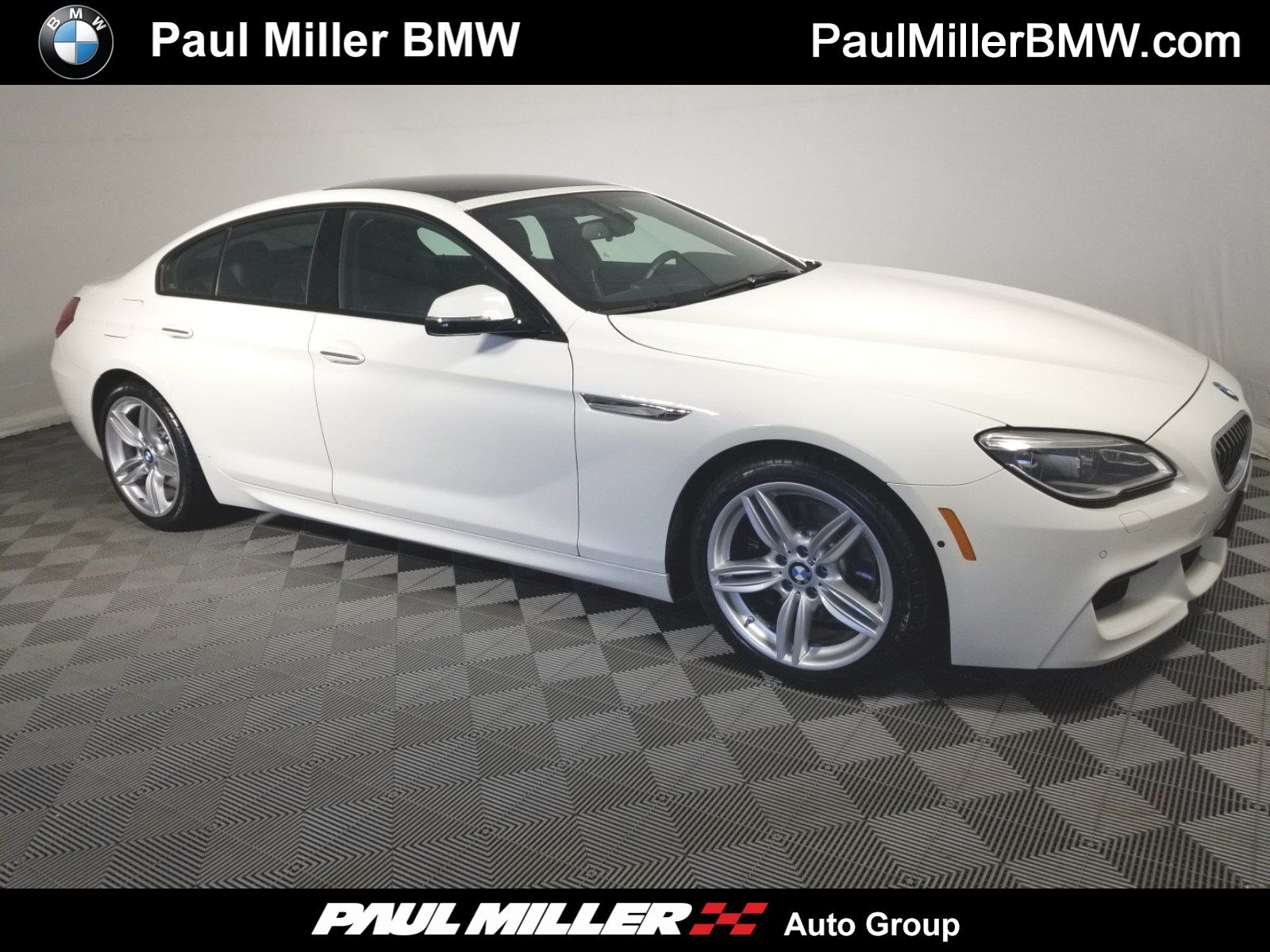 Certified Pre Owned 2016 Bmw 6 Series 640i Xdrive