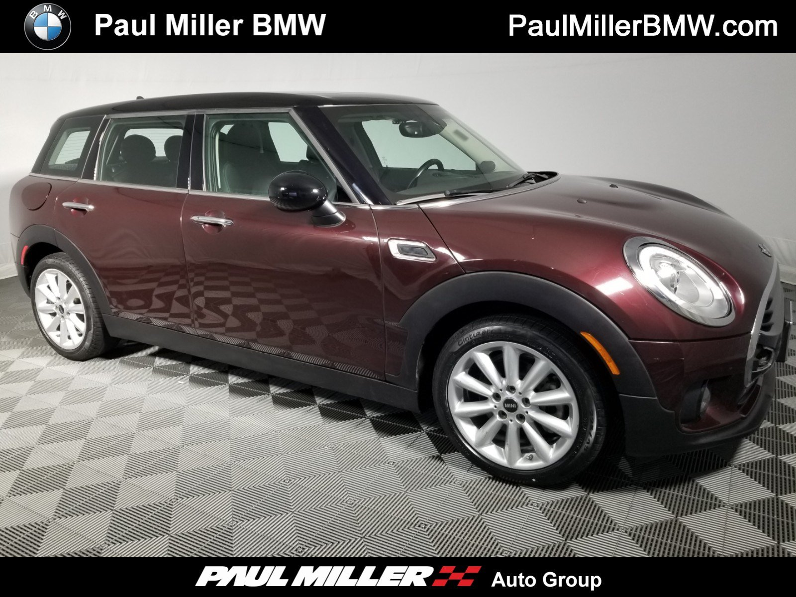 pre-owned 2016 mini cooper clubman station wagon in wayne #190502a