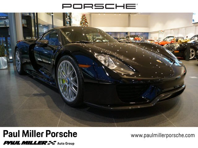 Porsche 918 Spyder For Sale >> Pre Owned 2015 Porsche 918 Spyder W Weissach Pkg With Navigation Awd