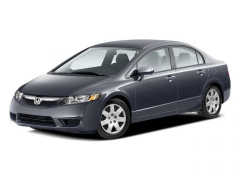 Certified Pre-Owned 2009 Honda Civic Sdn LX